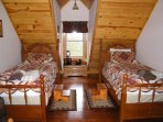 Upstairs Bedroom- Two Twin beds