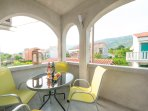 Private Furnished Terrace with BBQ and Garden View