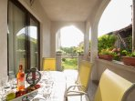 Private Furnished Terrace