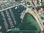 La Brisa's walk-on marina berth in San Antonio