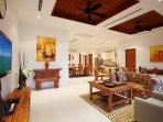 Living room - lounge area