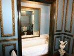 Unusual ensuite bathroom for the master bedroom