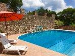 Macerino Castle private pool