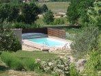 piscine couverte pour le début de la saison