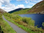 Lots of Cycle paths. This is at Elan valley, A 10 minute drive away.