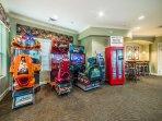 Windsor Hills resort game room games