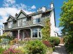 Minutes from the lake, a beautiful Edwardian home with great views, open fires and great welcome.