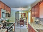 You'll absolutely love the recent renovations in this pristine kitchen.