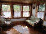 sun room adjoining master bedroom