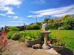 Cottage garden North Wales