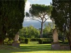 garden with view of Florence
