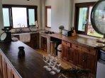Kitchen at Lord Jim Retreat Koh Phangan Sea view Private pool luxury villa rental