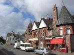 Aberfoyle main street.