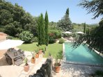 Bastide 2 sleeps 6 or up to 16 if booked with Bastide 1