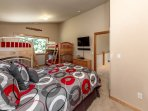 Two Bunk Beds & Queen size Bed (Slps 6)