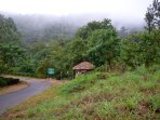 Viripara falls and Forest department trekking trail towards Munnar town at 5 minutes drive