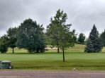 View of Eagle River Golf Course across street