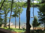 2016 great lake views and we see many birds, Loons, eagles etc.