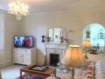 The sitting room at The Muntham Townhouse