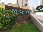 Romantic Michel's Restaurant in the lobby level of the Colony Surf. Celebrities frequently  seen.