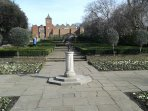 Holland Park - sunken gardens.