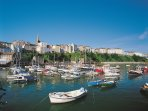 Picturesque Tenby is well worth a visit.