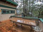 Deck,Porch,Bench,Hardwood,Yard