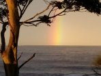 Rainbow over Batemans Bay