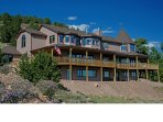 Alpine Vista Retreat - 9 beds, 8.5 Baths, Sleeps 22 in beds, 24 Secluded Acres; 5 mins to town