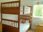 The bunk bed room - full size beds.