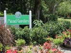 Mead Gardens is at the end of the street and is FREE!  Take a picnic and enjoy.