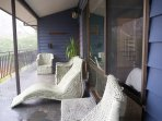 Sit back and relax on one of the verandas