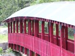 Kaslo River Trail bottom bridge