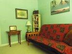 3rd bedroom, queen futon sofa bed