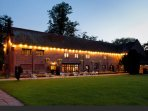 Local restaurants. Tudor Barn