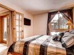 Ski Hill Condo 29 Master Bedroom
