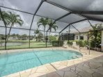 Private heated swimming pool awaits in this well manicured vacation oasis!