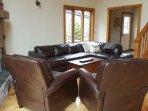 Main Floor Living Room - Queen Sofa Bed