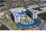Condo unit is to your right facing the lagoon pool