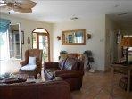 Entry living room...