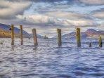 Dores Beach gateway to Lochness