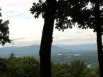 Valley Vista Cabin - ShenandoahRiver view & hottub