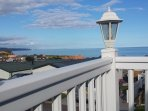 Stunning views from our decking, whilst sipping a cool glass of wine or two!