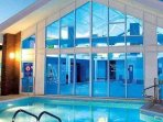 Onsite swimming pool - passes needed at additonal cost to bookers - bookers purchase onsite