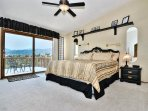 Master Suite with balcony views