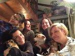 'La casa di Tina' Staff: Cristina, Roberta, Diana, Amina and Emanuela