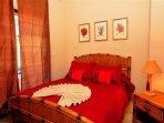 second guest bedroom with 1 queen