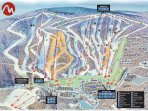 Trail #13 is our ski-on access,Ski right onto to the slopes from house location..5 min walk