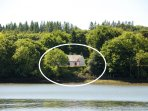 Cottage on the Cleddau River in the Pembrokeshire National Park - pets welcome
