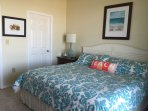 Local art and décor make this Master Bedroom perfect!